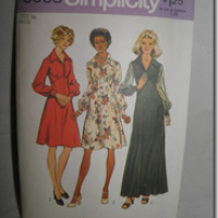 Sleeveless Empire Line, Bias Cut Dress