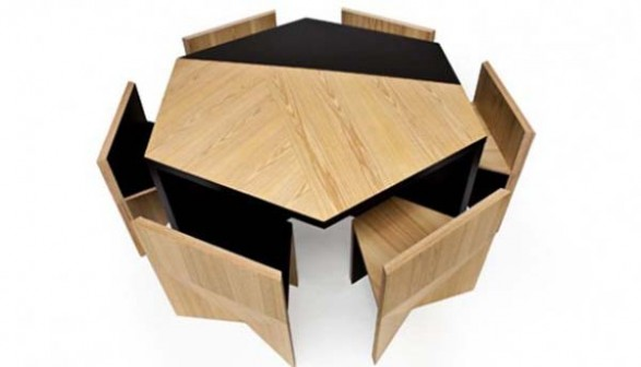 Modular compact dining suite