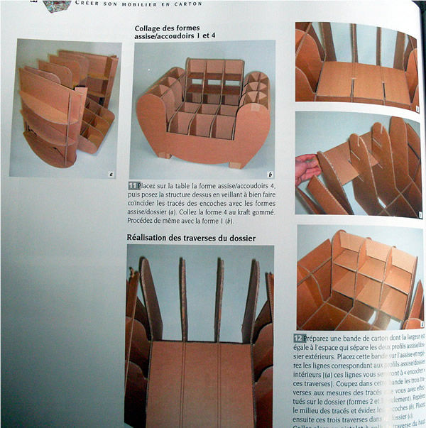 Make your own cardboard Furniture