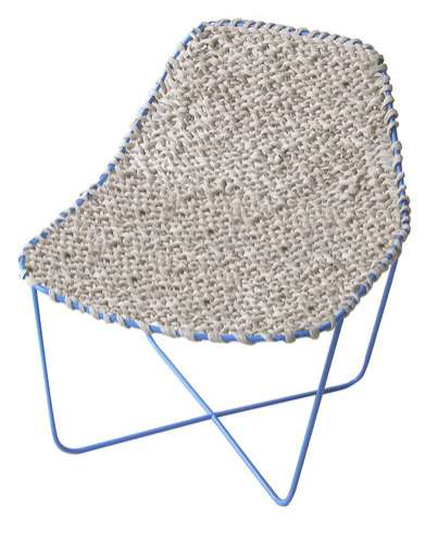 Paper Yarn Woven Chair