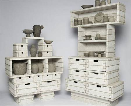 Paper Pulp Cabinets