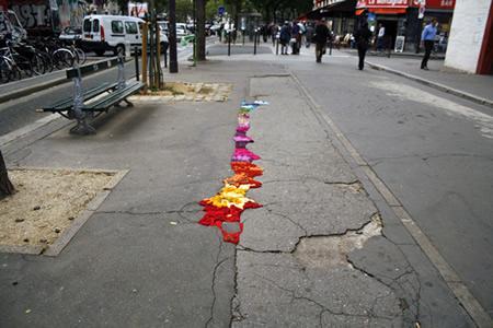 pavement crack
