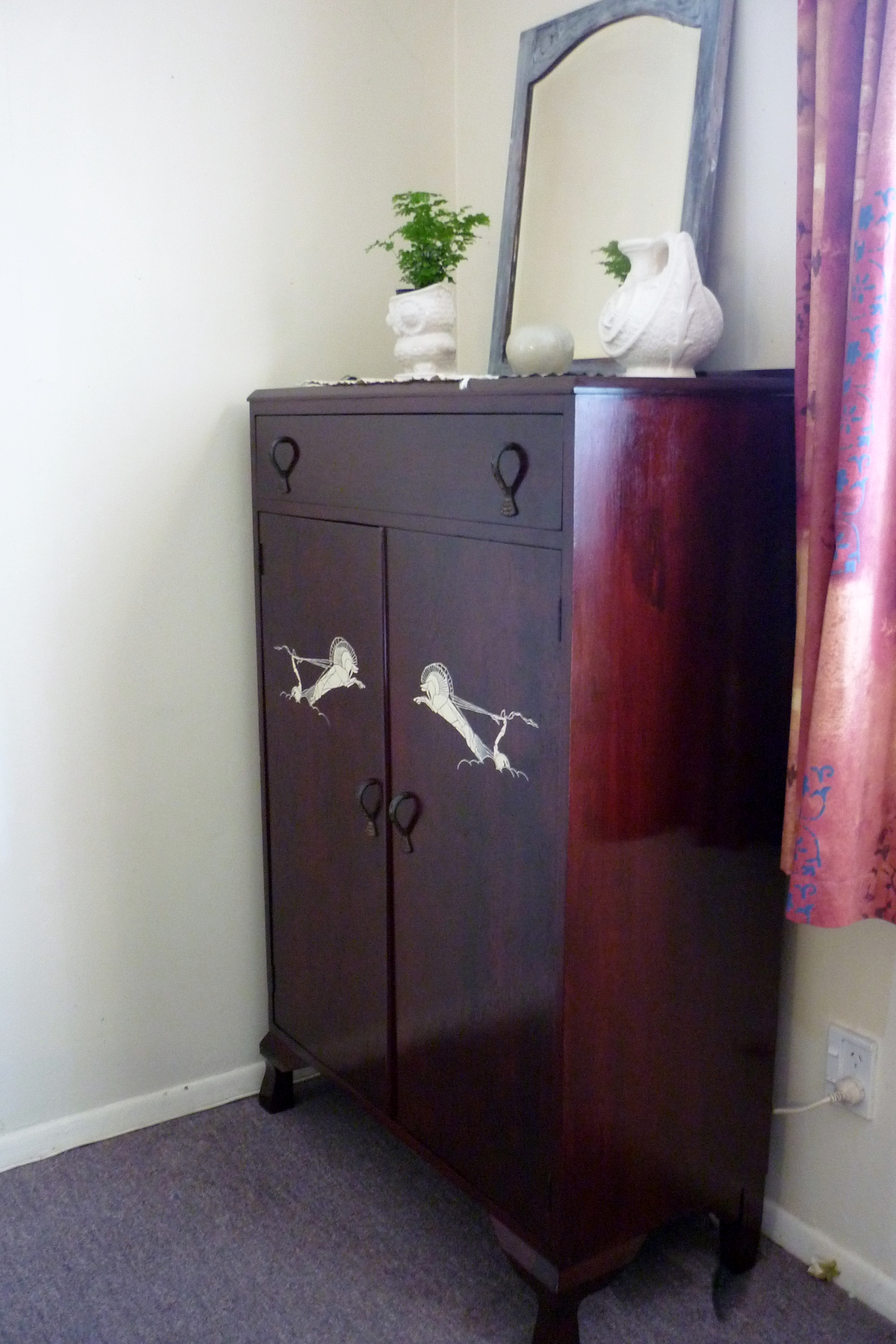 short armoire complete at long last pepperbox couture. Black Bedroom Furniture Sets. Home Design Ideas