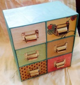 DIY shabby chic storage solutions.