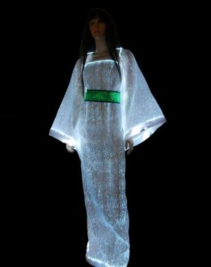 luminous fiber optic dress (LumiTop Sophia) 1