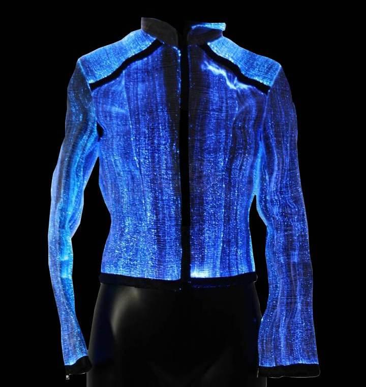 luminous jacket (LumiJacket) 1