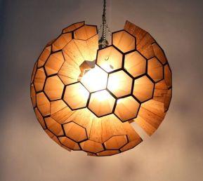 Hexagonal cell pendant
