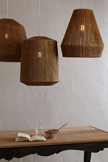 woven lamps